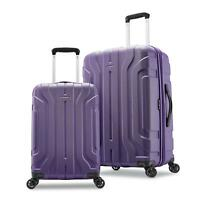Samsonite Belmont DLX 2 Piece Hardside Spinner Luggage Set - Purple
