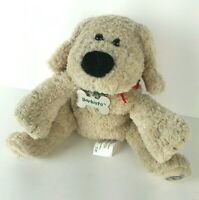 Starbucks 2003 Barkista Plush Dog Floppy Puppy with Collar and Metal Name Tag