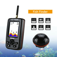 Smart 45M Handheld Fish Finder Wireless Sonar Sensor Sounder Lake Fishfinder