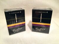 Vandoren Traditional Bb Clarinet Reeds (Strength 4) - Four Boxes of 10