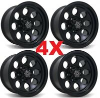 15 BLACK WHEELS RIMS 5X127 5X5 OFF ROAD
