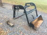 FRONT END LOADER ATTACHMENT, ATV, QUAD, 4 WHEELER, GARDEN TRACTOR,LAWN MOWER