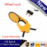 Parking Boat Car Tire Claw ATV RV Wheel Clamp Truck Trailer Locking Anti Theft