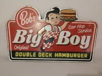 Bob's Big Boy Restaurant - Vintage Style Metal Sign - 15x24 inches - NEW