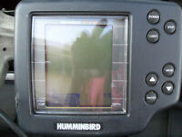 Hummingbird Wide Eye Fish Finder W/ Transducer Power Cord and Mount