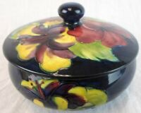 Second Beautiful Vintage Small Moorcroft Lidded Bowl