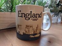 Starbucks England Mug Stonehenge Icon Coffee Cup Britain UK v3 Discontinued