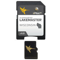 Humminbird® LakeMaster® WISCONSIN - VERSION 8 microSD™ Fish Finder Lake Map Card