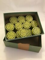 Vintage Box Of Watch Material Tins Memphis History Pharmacy 1960 Fargotstein