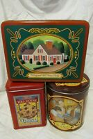 Vintage Nestle Toll House Advertisement Tins Lot of 3