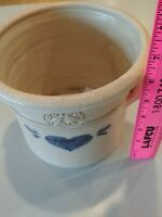 Pinewood Valley Crock Pottery Large Well made Vintage 1985 see measurements