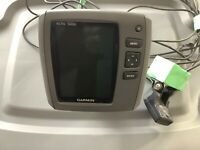 Garmin Echo 500c Fishfinder Color screen, complete withTransducer and mounts.