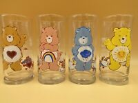 Care Bears Glasses 4 Vintage Pizza Hut 1983 American Greetings Limited Edition