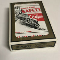 1 Deck Come Cards 1990s Coca-Cola Playing Cards Deck Race for Safety!!
