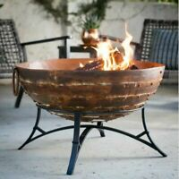 Wood-Burning Mosaic Connor Compact Wood Fire Pit DOESN'T SHIP TO CALIFORNIA
