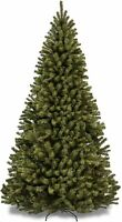 BCP 7.5ft Premium Spruce Hinged Artificial Christmas Tree w/Easy Assembly, Folda