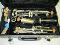 Vintage H. Bettoney Columbia Model Clarinet ⭐Good Cork & Pads - Ready to Use⭐