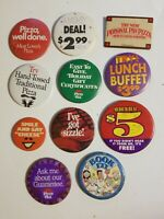 Vtg Pizza Hut BOOK IT 1980s 90s Pin Button Badge Lot Of 11 Promo vintage deal
