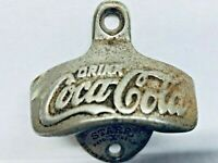 VINTAGE, ORIGINAL, COKE, COCA-COLA BOTTLE OPENER, WALL MOUNTED, STARR X, # 5