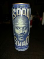 Rare Full Unopened Shaq Soda Arizona Blueberry Cream Soda Shaquille O'neal