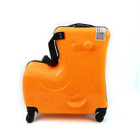Children Riding In Suitcases Ride On Luggage Waterproof Hard Shell Spinner Wheel