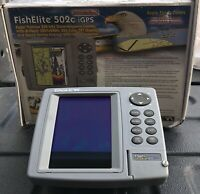 Eagle 502C IGPS Fish Finder Head Unit & Brackett Only