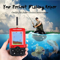 1xLake Sea Fishing Smart Portable Fish Finder Depth Alarm Wireless Sonar Sensor