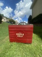 Rare Vintage Double Cola Cooler