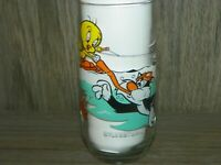 1979 Pepsi Looney Tunes Sylvester Tweety Bird Glass MINT NOT USED
