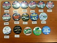 Hess Toy Truck Pin Sets - 13 Truck Pins and 3 Misc Pins