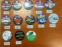 Hess Toy Truck Pin Sets - 12 Truck Pins and 1 Misc Pin