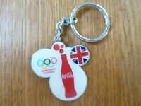 COCA COLA LONDON 2012 OLYMPICS OFFICIAL KEYRING