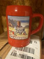 Official Industrial International Harvester Tall Beer Stein Coffee Mu