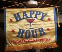 Southern Comfort Happy Hour Headquarters Banner Sign Flag Decoration Man Cave
