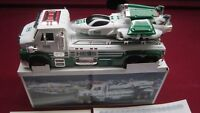 2014 HESS TOY TRUCK and SPACE CRUISER with SCOUT,
