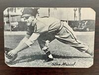 1947 STAN MUSIAL BOND BREAD Rookie Card St.Louis Cardinals Rounded Corners