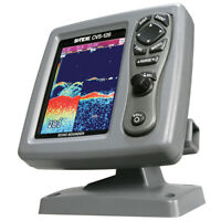 FISH FINDER SONAR DEPTH SOUNDER SI TEX CVS 126 COLOR DUAL FREQ FREE SHIPPING