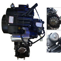 125cc 4stroke ATV Engine Motor Semi Auto w Reverse Electric Start for ATVsKarts