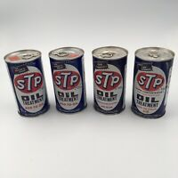Vtg Lot STP Oil Treatment Pull Top Metal Can The Racers Edge Andy.. Unused Full