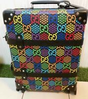 Auth GUCCI Globe Trotter GG Psychedelic Suitcase Medium 50 x 35 x 18 New
