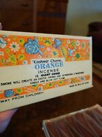 12 Vintage orange Cone Incents made in India $13.99
