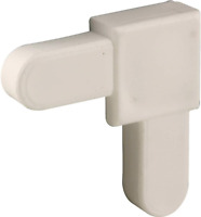 PL 14336 White Plastic Mobile Home Screen Frame Corner 1 4quot; x 5 8quot; Pack of 20 $10.10