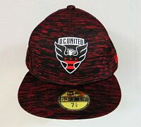 New Era MLS D.C. United On Field 2020 Fitted Hat 59FIFTY 7 5 8 12324254 RARE