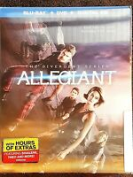 The Divergent Series: Allegiant Blu ray DVD 2016 Holographic Slipcover