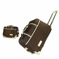 Womens Carry On Luggage Travel Suitcase On Wheels Casual Rolling Case Bag