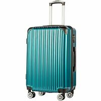 Coolife Luggage Expandable only 20quot; Suitcase PCABS Spinner 20 in Carry On