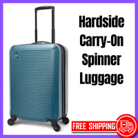 Protege 20quot; Hardside Carry On Rolling Lightweight Spinner Luggage Blue