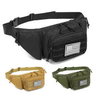 Tactical Waist Bag Concealed Gun Carry Pouch Military Pistol Holster Fanny Pack