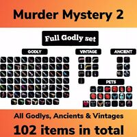 Murder Mystery 2 Godly Set Every Godly Vintage Ancient Pets