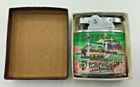 Vintage Brothers Memory of Japan Lighter with Original Box